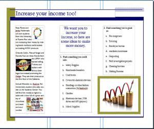 FMWP: Advertisement for Odd Jobs, Brochure  | The Colegio