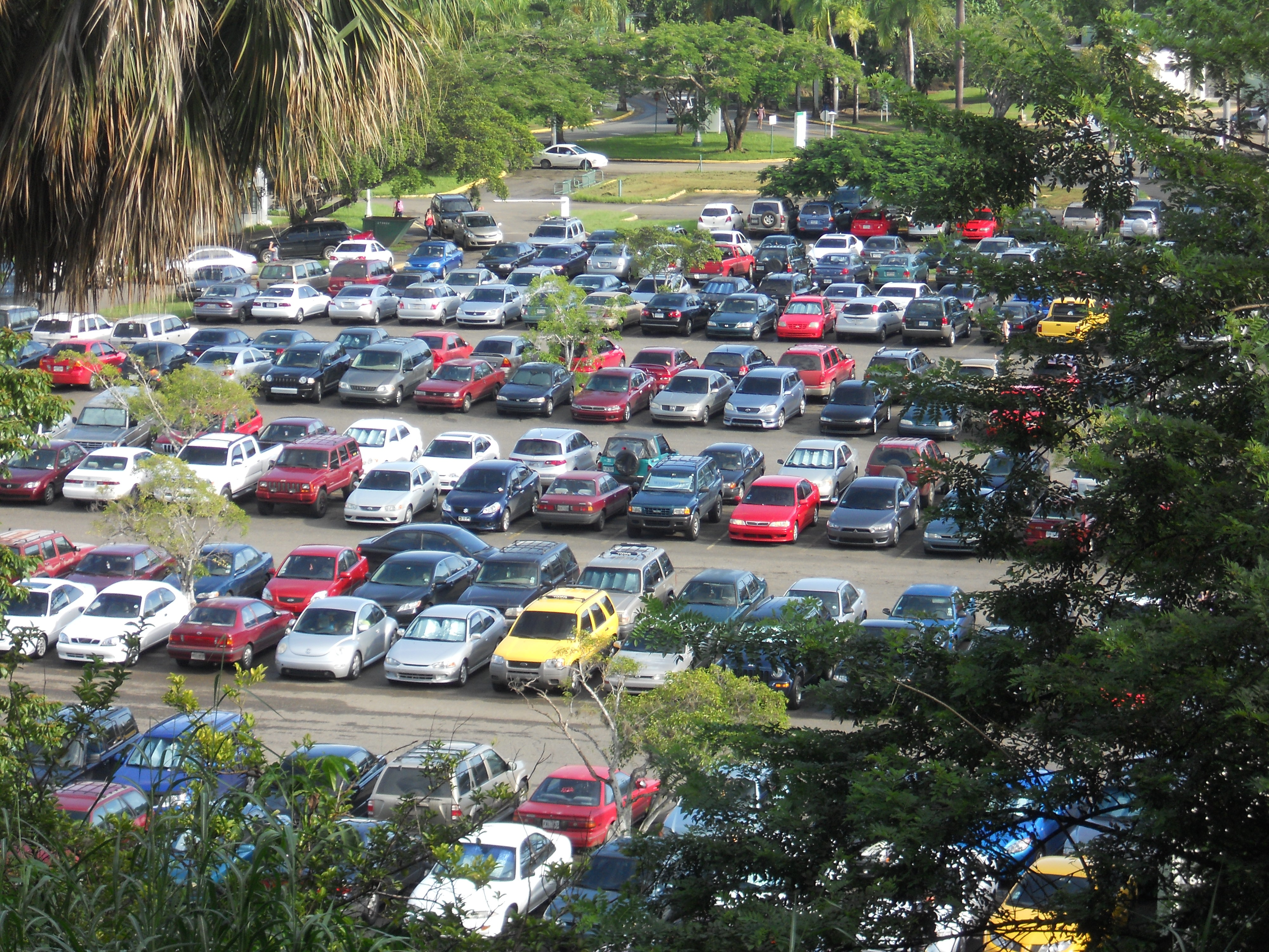 Every year the parking at the university of puerto rico in mayagüez
