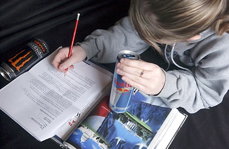 Caffeine And Energy Drinks Students