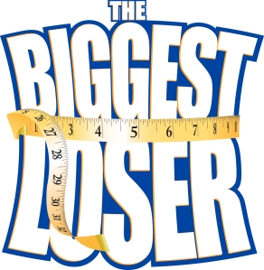 This is the original logo of The Biggest Loser, the reality show and the one used for the competition as well