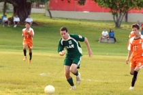 UPRM soccer team against another college