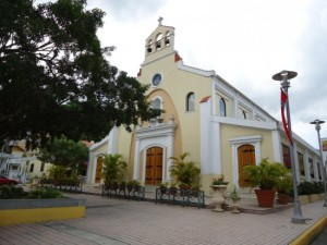 """Juanita was a very catholic person and helps a lot of people through the church"" said Antonia, daughter of Juanita. Photo: Main catholic church in Jayuya"