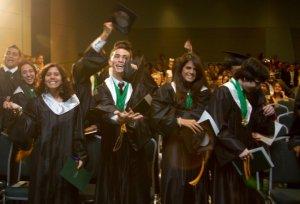 High school graduation photo.