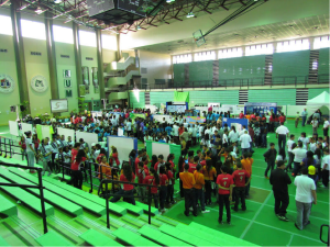 Job fair at University of Puerto Rico - Mayagüez. (2013)