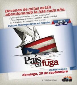 Special edition, front page of the Puerto Rican newspaper 'El Nuevo Día'.