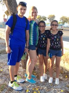 "Elith Rivera, her son Roberto Toro and daughters Yanely Toro and Yadeli Toro enjoying a field day on a sunny weekend at La Guancha in Ponce. Elith had planned this trip for quite some time; she wanted to spend quality time with her children in the long weekend. Elith says: ""Since I got divorced and share the custody of my children for over a year I try to take them on trips like these on long weekends or on vacations to strengthen our bond as a family."""