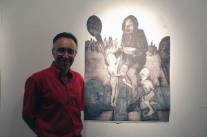 Professor Baruch Vergara was born and raised in Puebla, Mexico and still he admires Puerto Rican engraving.