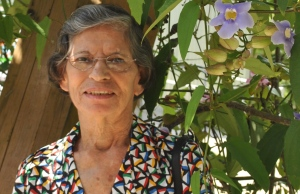 """Beatriz Otero, 81, was raised in Vega Baja. """"I think that's why I feel we came from the earth, I felt close to it. I have many scars and peculiarities as a result of living in the country, that only my neighbors and sibling had."""" She explains that  many people say that persons with big ears is one of those peculiarities."""
