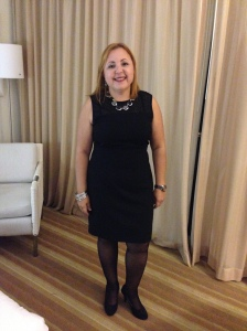 Arlin before a formal dinner at the 2014 Pharmacists Convention in Puerto Rico at El Conquistador Resort.