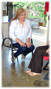 "Elsie ""Elsita"" Cabrera, Judith's niece, is the person in charge of taking care of her. Her mother, Judith's sister, was also diagnosed with Alzheimer. ""I know how to handle Judith because my mother is going through the same thing, and I don't mind the responsibility."""