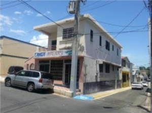 "The humble ""Pueblo""  of Camuy at noon as regular, slow and deserted. This has been  the atmosphere here for 10 years which has caused a lot of need and poorness in between its residents who are mostly the elderly. An elderly woman who lives there said, ""We have been abandoned, forgotten who is going to helps us now""."