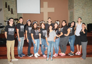 "On November 22nd   this young group of teens from Emmanuel's church at Camuy, Puerto Rico got together to make a difference in this city. Over the past week this group has dedicated their time to help people in need around their church. Their shirt reads "" Se busca gente diferente para hacer la diferencia"" this is their mission."