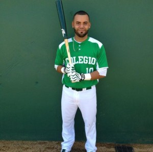"Jose Angel Cruz Troche, 21, is a student at the University of Puerto Rico - Mayagüez.  Troche played baseball since he was five years old with his dad. ""Occasionally, I spend hours without eating because I don't have time between classes and games. That's why I eat a lot during my free days."""